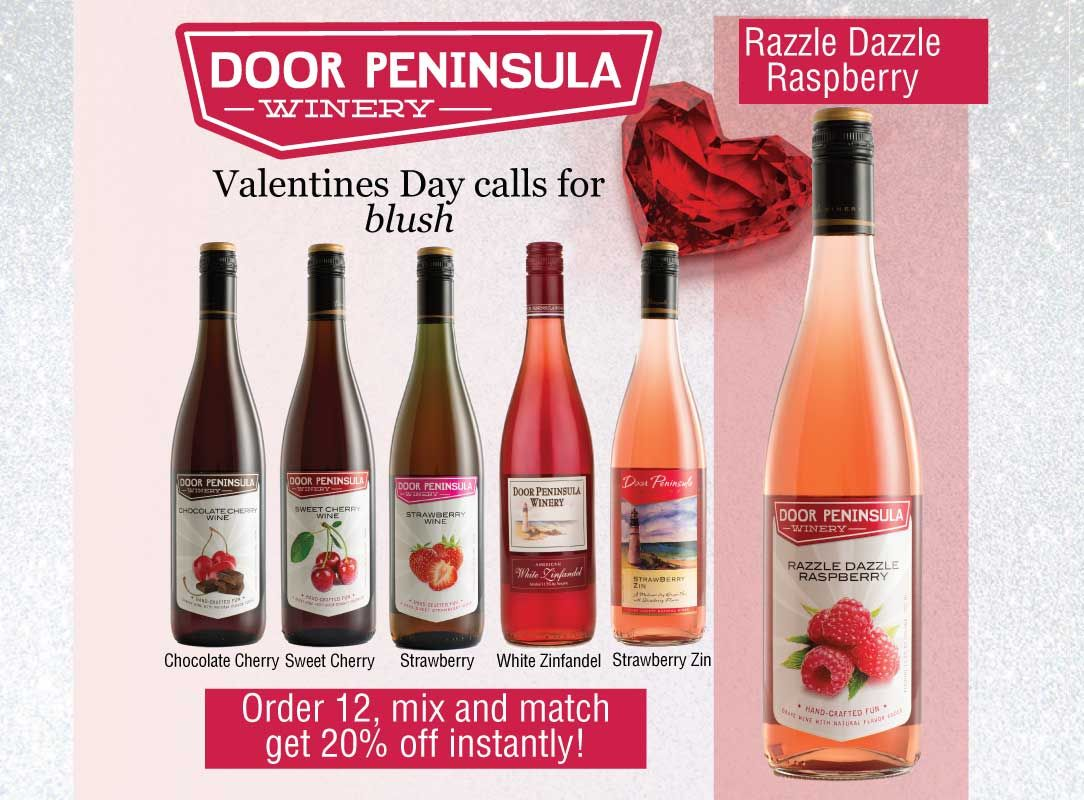 Door Peninsula Winery Winery Sweet Cherries White Zinfandel