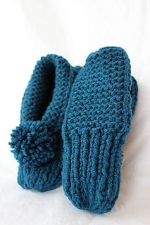 Updated Parkspin Slippers by Joan Janes - free on Ravelry ...