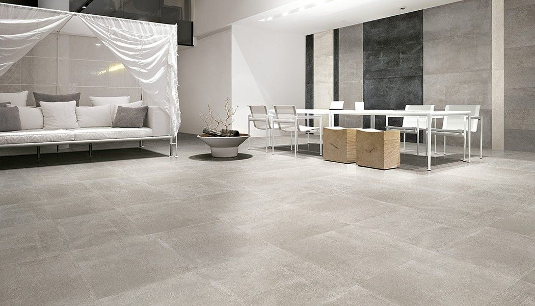 Carrelage Aspect Beton Brut National Road Carreaux De Sol Carrelage Interieur Decoration Salon