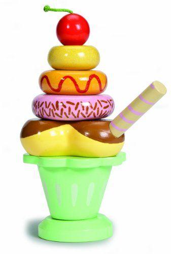 Le Toy Van Wooden Ice Cream Sundae I Cannot Explain The
