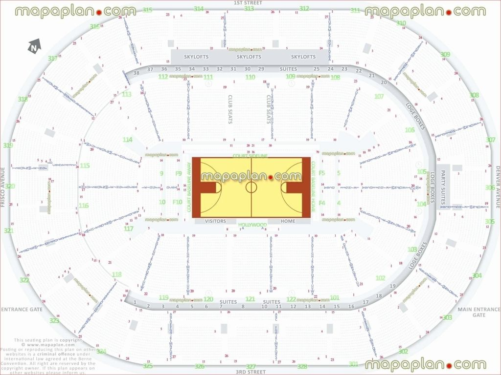 The Elegant Along With Gorgeous Keybank Center Seating Chart With Seat Numbers Di 2020