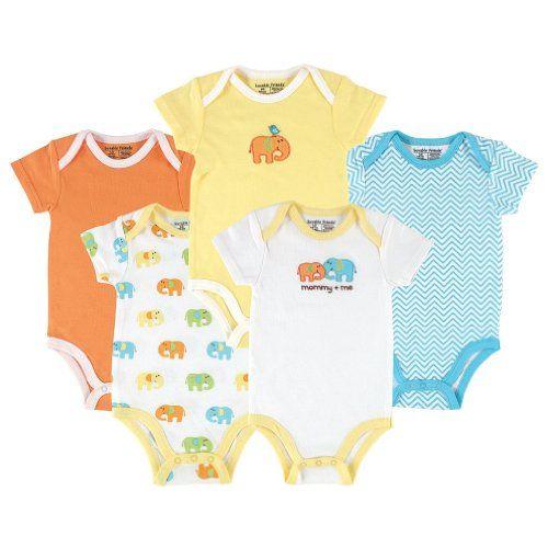 TeeStars Daddys Lil Farter Funny Cute New Born Baby Long Sleeve Gown Newborn Light Blue