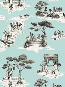 Superior Modern Toile Fabric   Bobu0027s Blogs | Toile, Toile De Jouy And Book Shelves Part 4