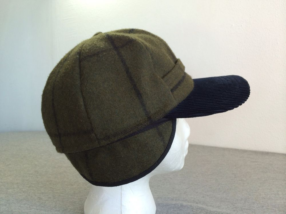 6e7a9d03 Vtg PENDELTON HAT Wool Insulated 6-Panel Ear Flaps Thomas KAY WARM! USA  Large #Pendleton