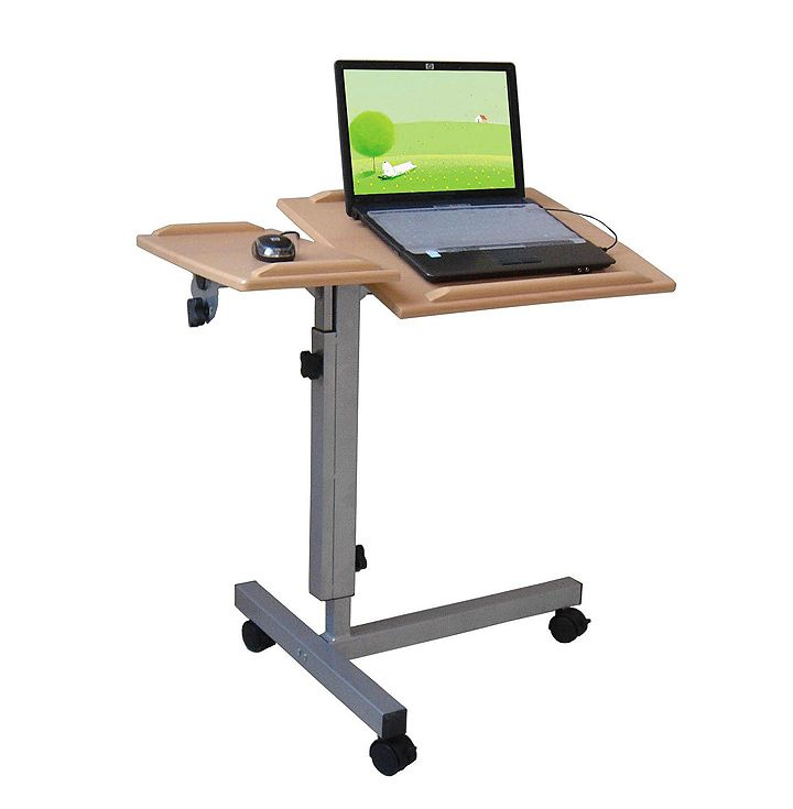 Small laptop table with wheels Review and photo – Small Table with Wheels