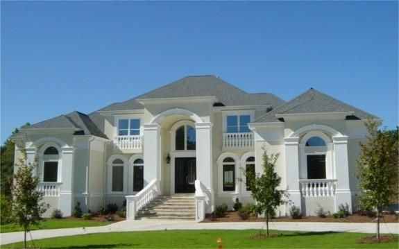 House plan 3885 00095 this luxurious mediterranean home for House plans with future expansion