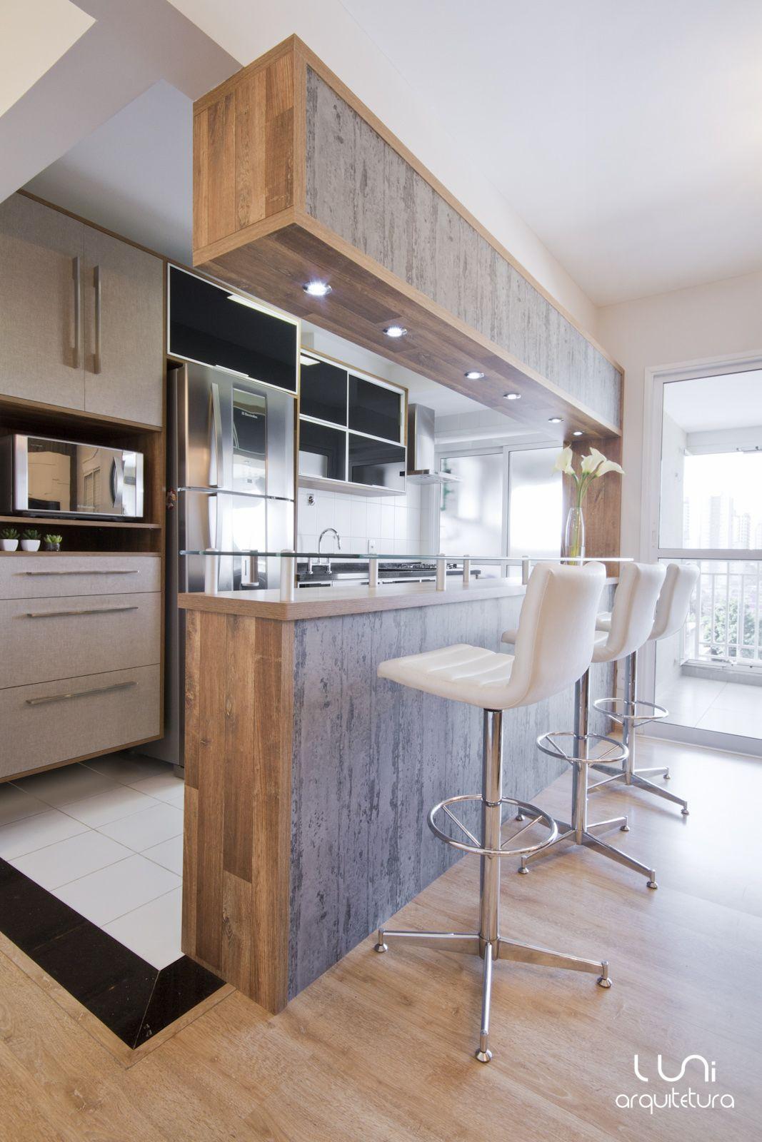 Cozinha Projeto Luni Arquitetura Kitchen By Luni Arquitetura Www