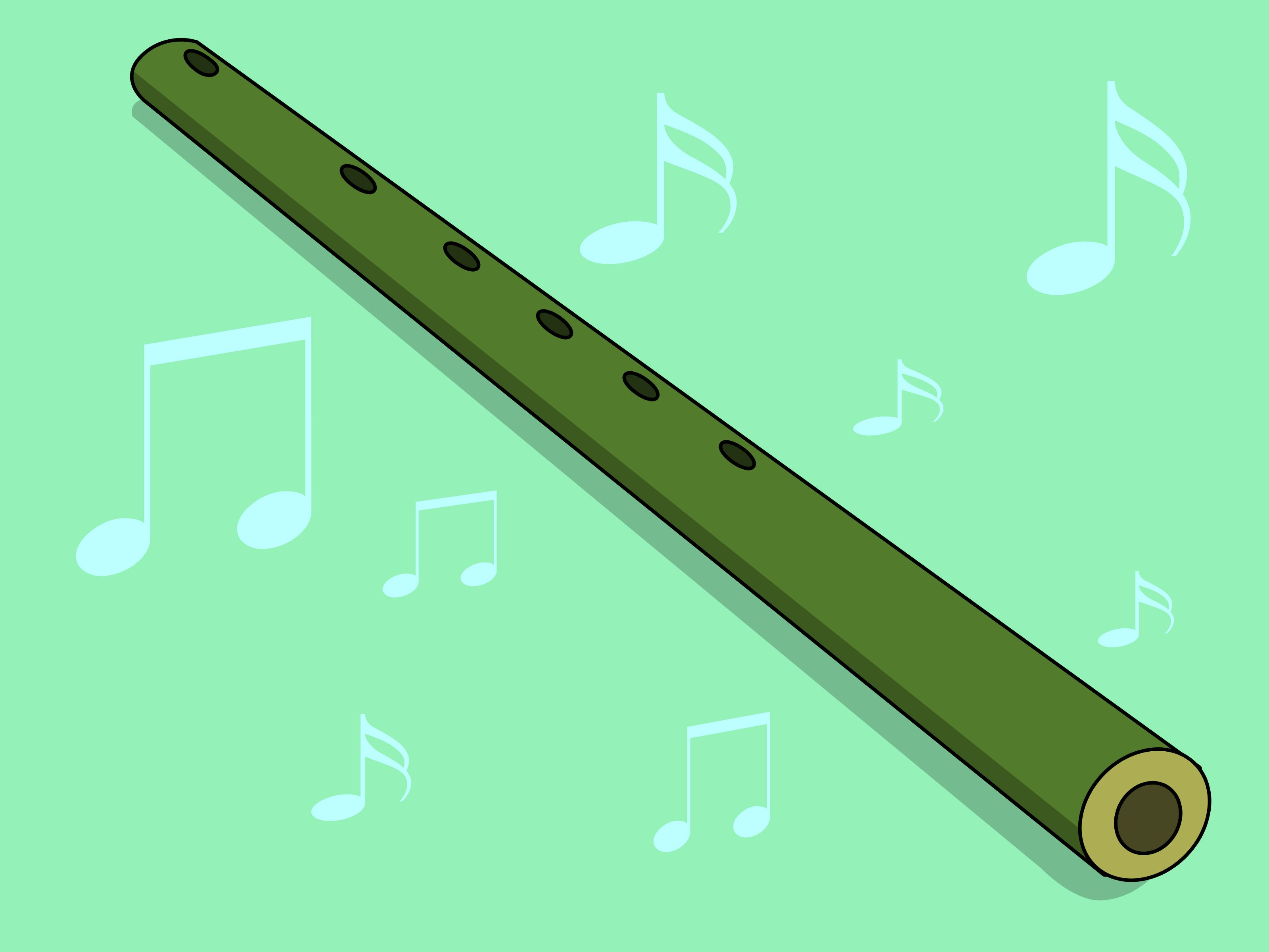How to Make a Bamboo Flute -- via wikiHow.com