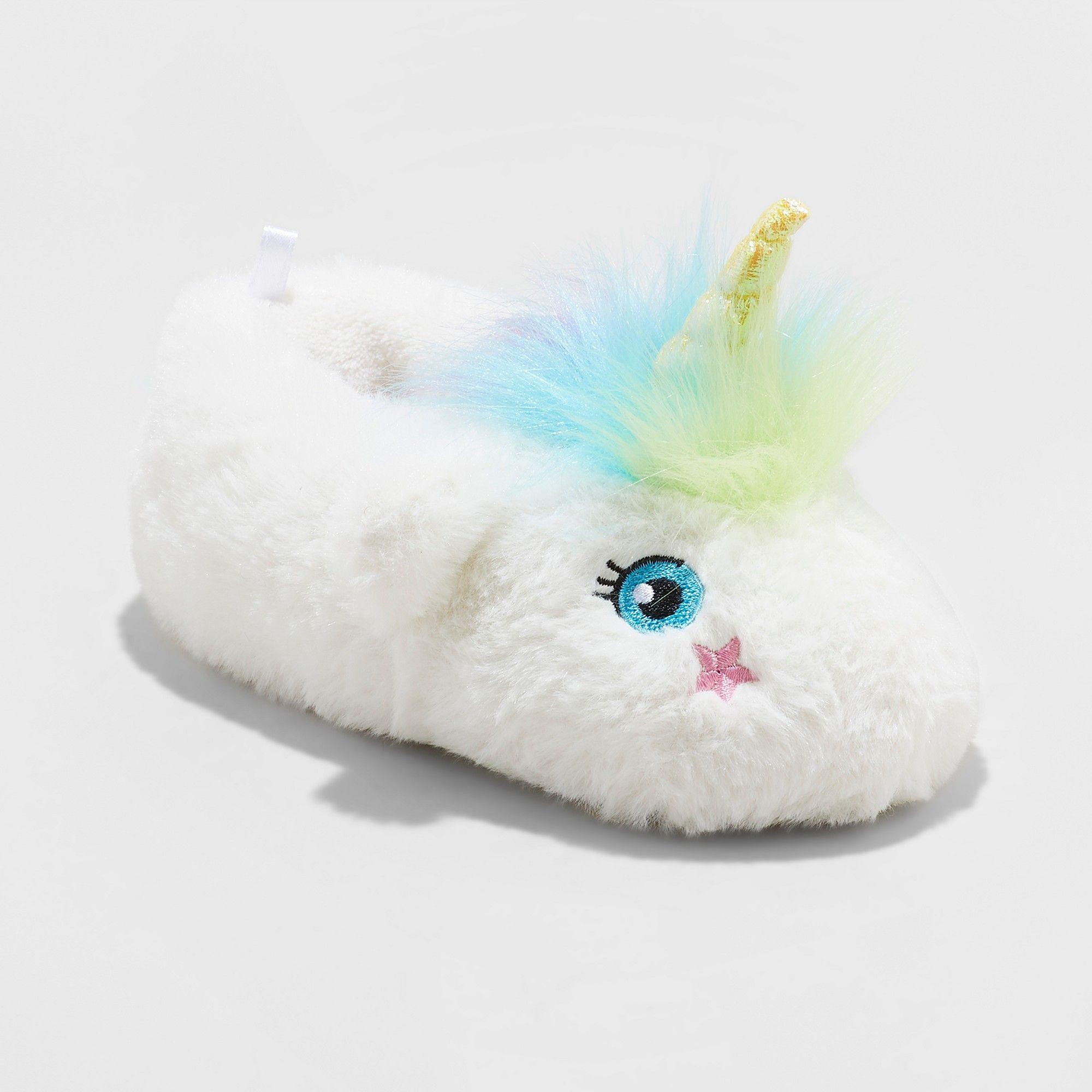 143c8c04d7e Toddler Boys  Raylee Unicorn Slipper - Cat   Jack White XL(11 12 ...