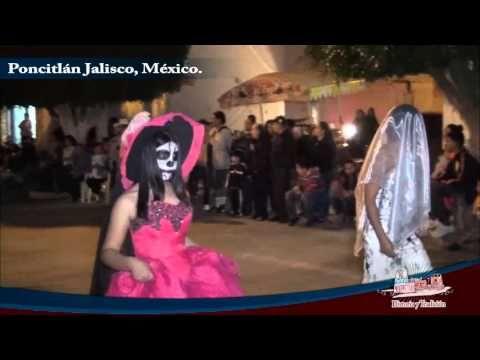 Desfile de Dia de Muertos 2015 en Poncitlan