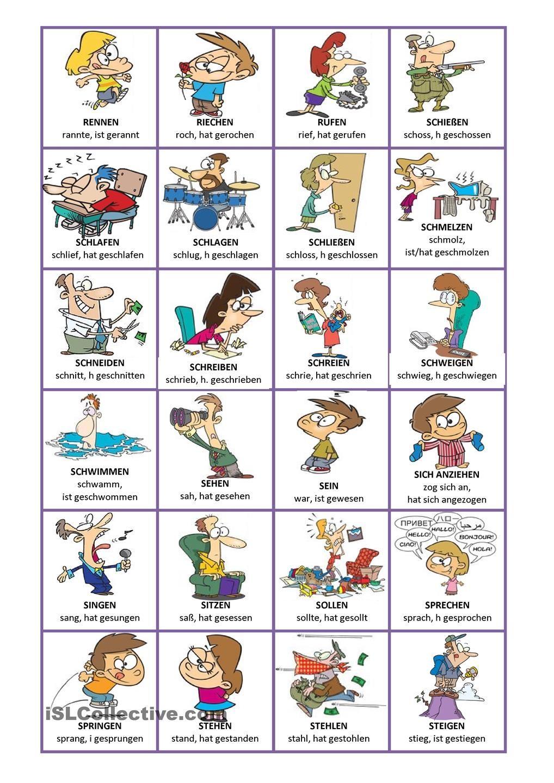 Aktivitäten Englisch