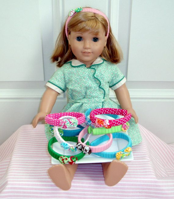 Headbands for American Girl Dolls | american girl birthday party ...