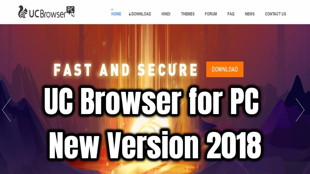 How to Download and Install UC Browser for PC New Version 2018