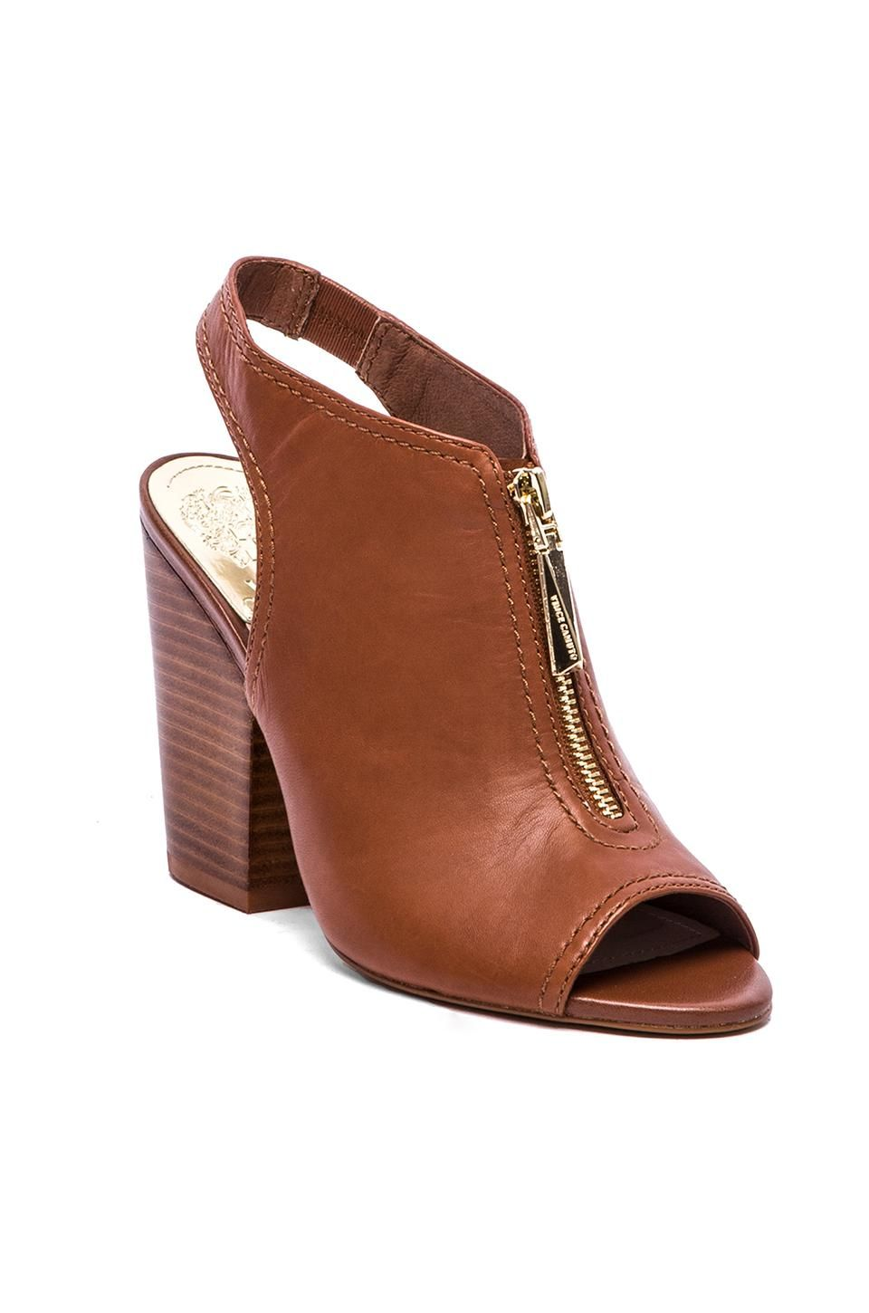Cute camel booties with some 70's flare!
