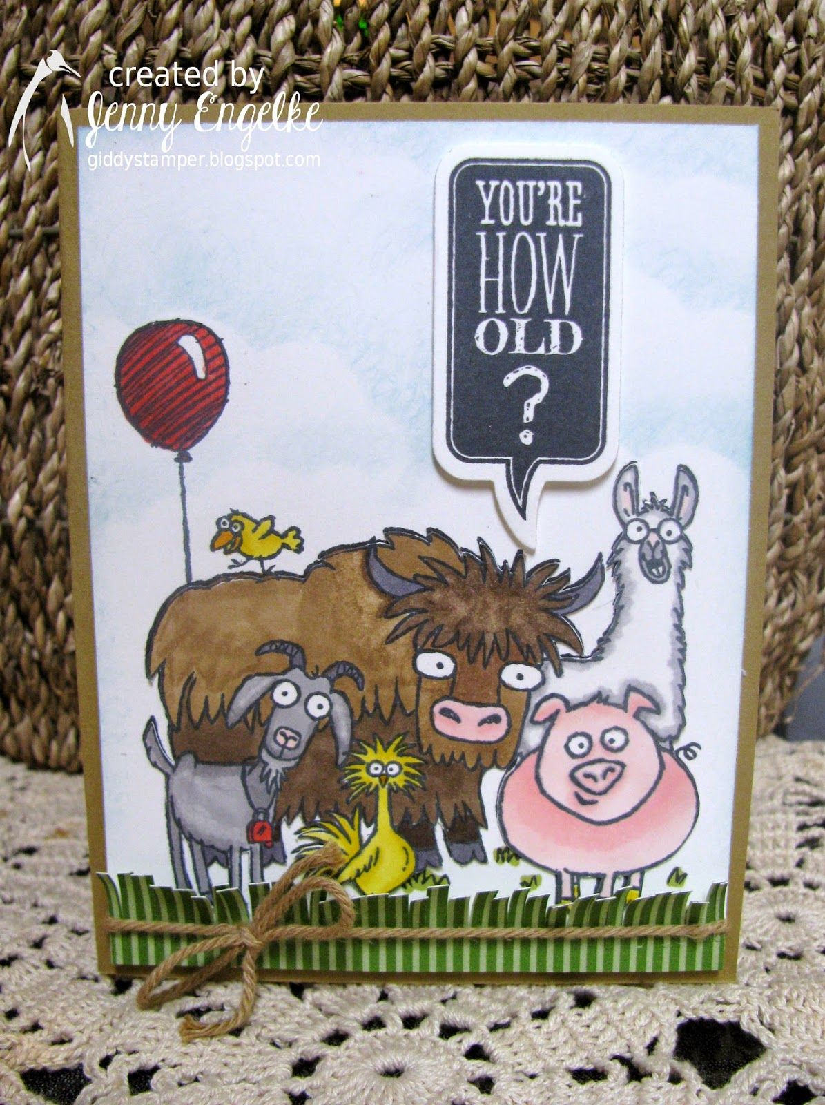 Giddy Stamper: Ralph's 60th ~ STB Party!