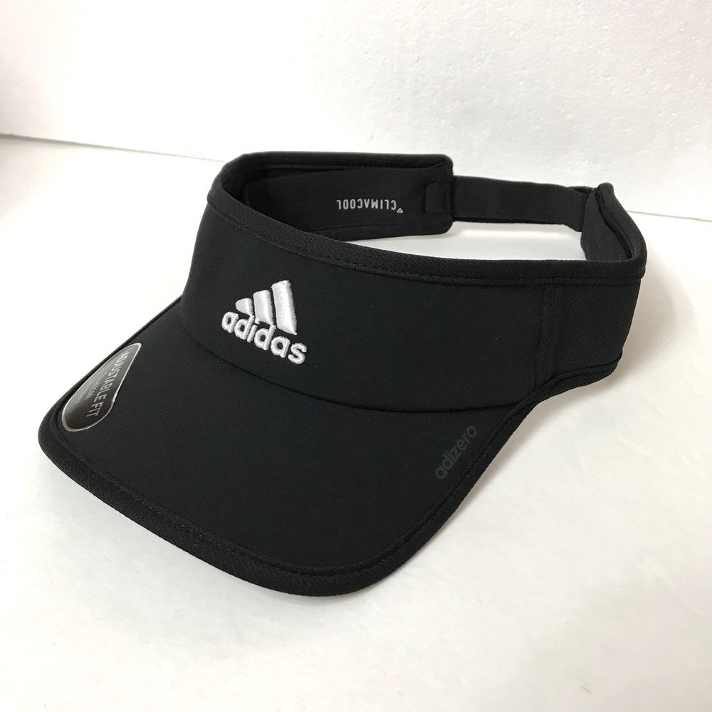 f93a73f4245 new ADIDAS ADIZERO DRY-FIT SUN VISOR polyester activewear golf running men  women  adidas  Visor
