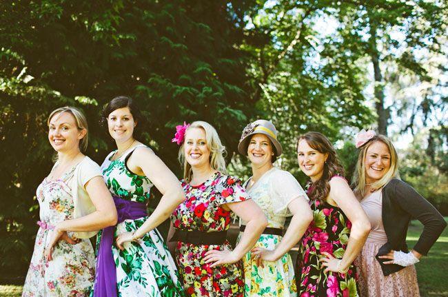 Vintage Garden Party Wedding Louise Dave Party Dress Codes Garden Party Dress Garden Wedding Dresses