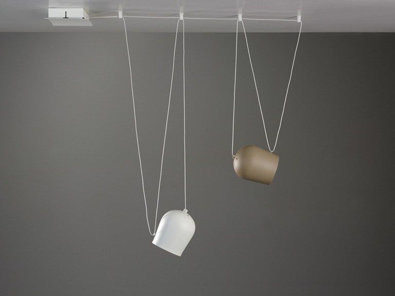Suspension led nuts by cattaneo illuminazione design carlo