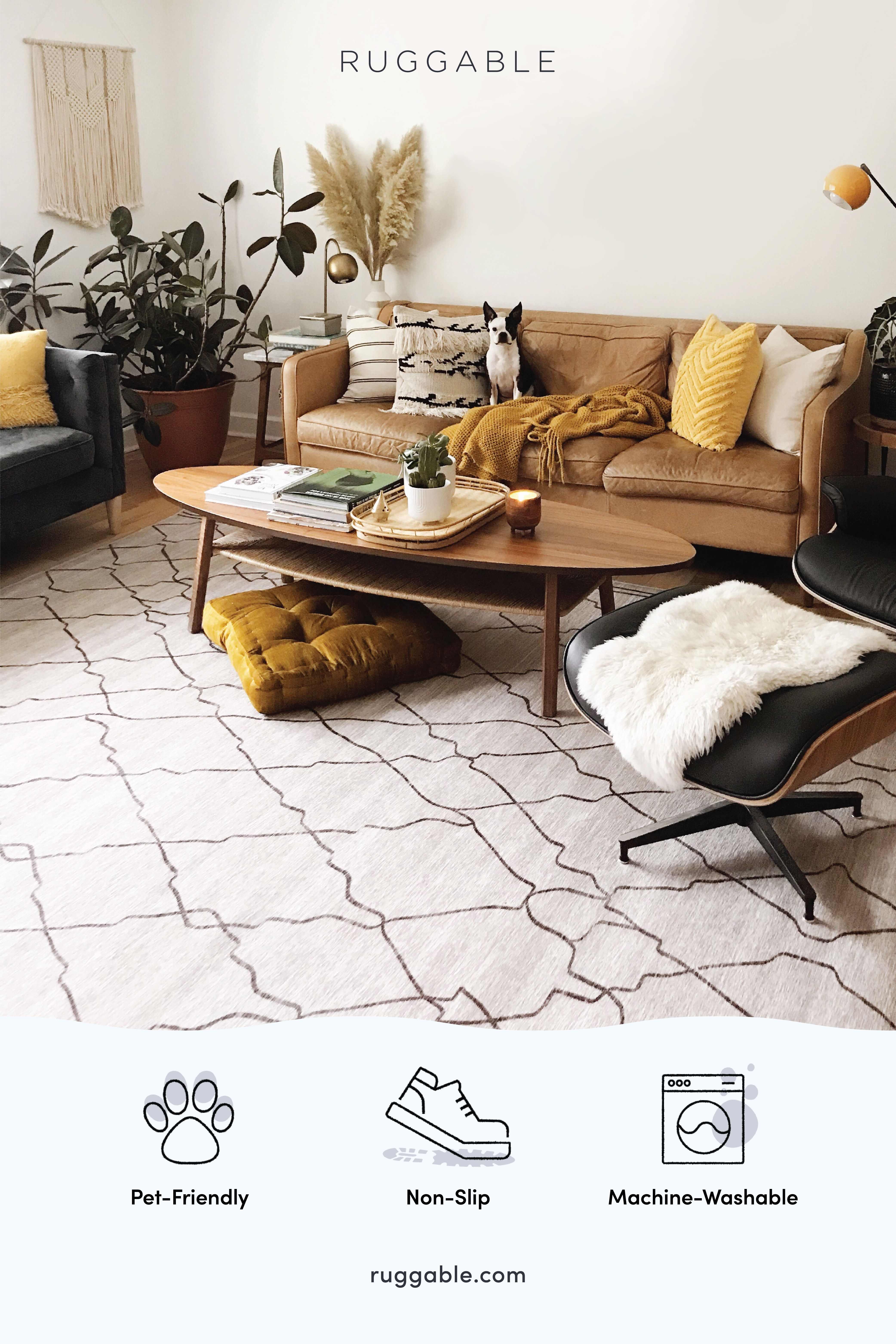 Ruggable Machine Washable Rugs Are Here Waterproof Non Slip And