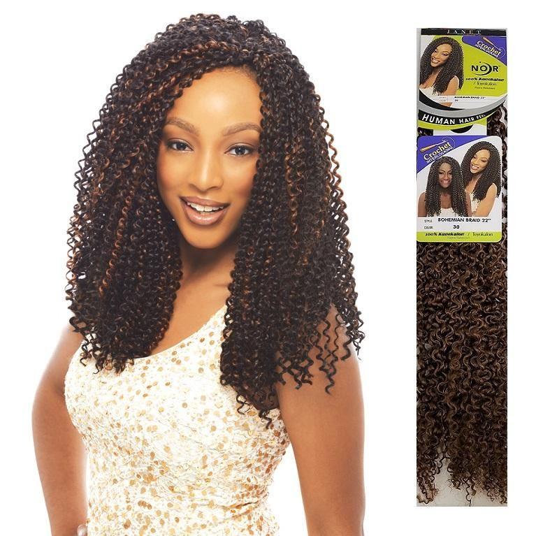 Janet Collection Crochet Braid Bohemian Braid 22 In 2019 Hair