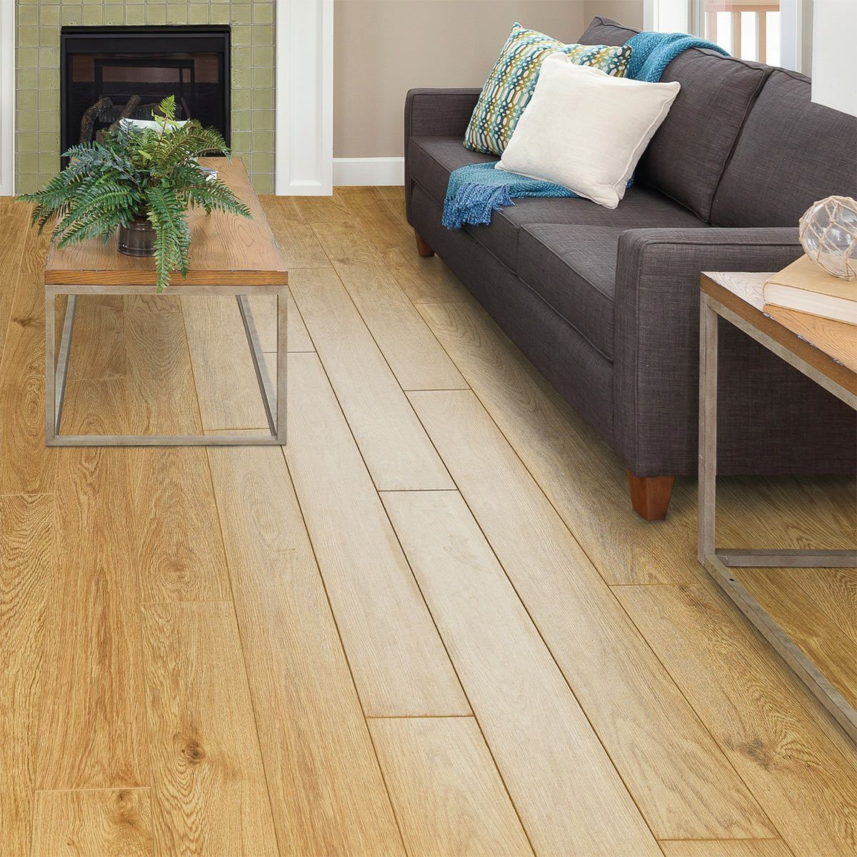 Golden Select Nottingham (Oak) Laminate Flooring with Foam