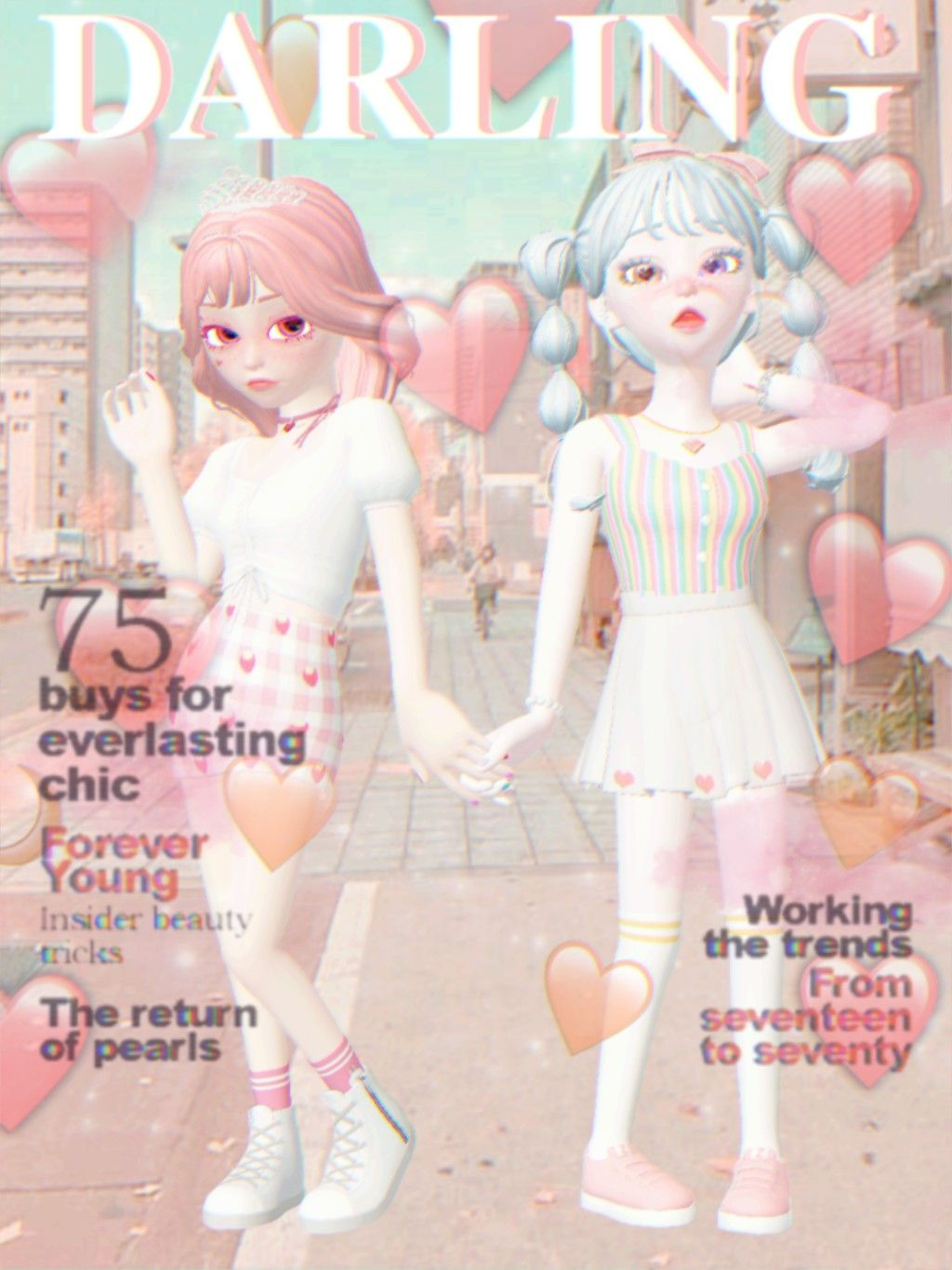 Pastel Soft Girl Aesthetic