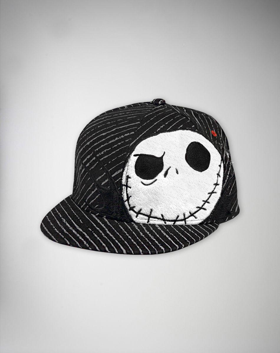 Nightmare Before Christmas 'Jack' Pinstripe Flatbill Hat $19.99 ...