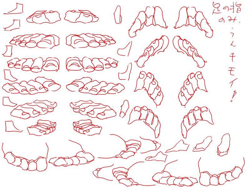 Pies Dedos   D.Drawing   Pinterest   Anatomía, Piernas y Dibujo