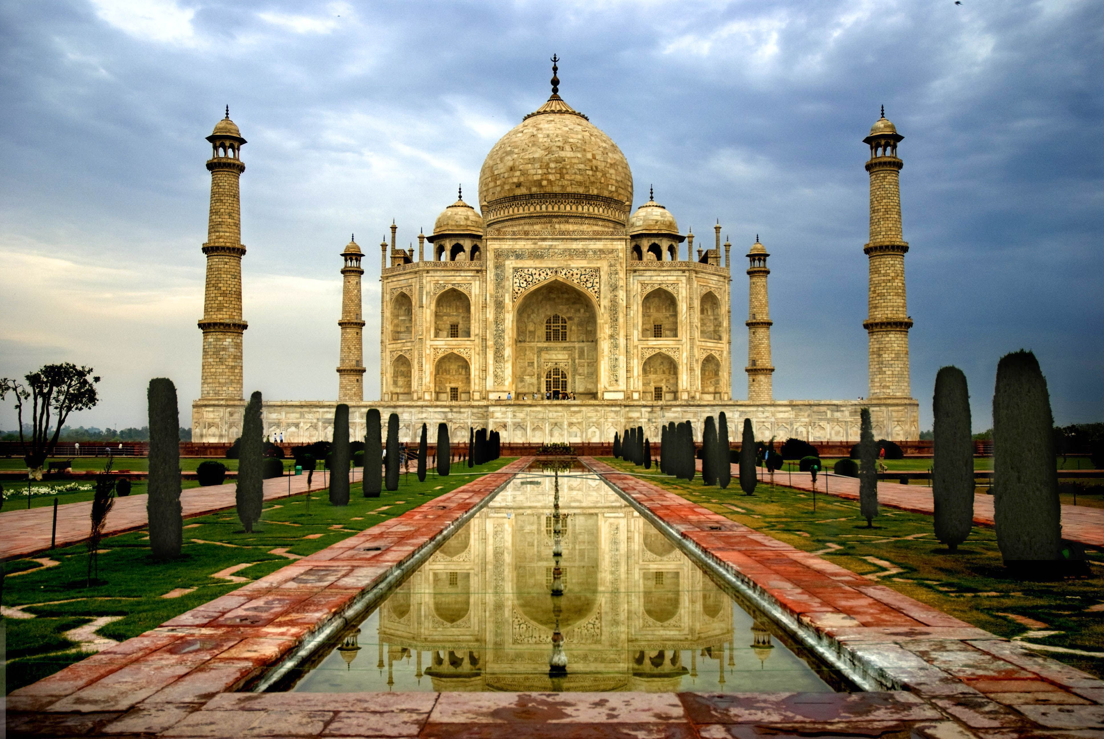 Beautiful Taj Mahal India High Definition Hd Wallpapers Hd