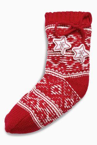 Buy Fairisle Pattern Slipper Socks from the Next UK online shop ...
