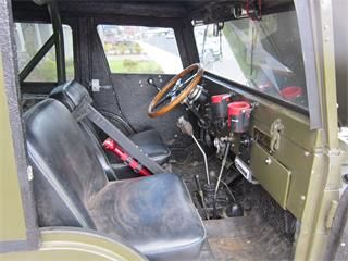1955 Willys Jeep CJ5: - has a 1970 231 buick 3.8L v6 ...