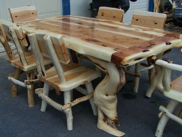 Exceptionnel Oregon Coast Log Furniture