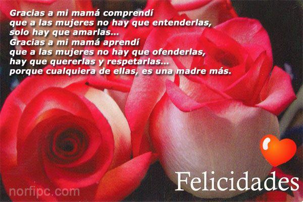 Frases Para Mama: Poemas, Frases E Imágenes De Homenaje Y Felicitación A La