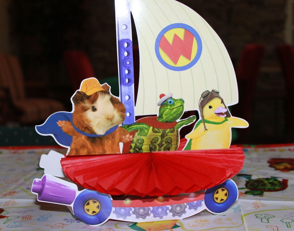Wonder Pets And The Flyboat Table Centerpiece Animal Birthday