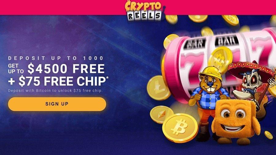 Cryptoreels Casino Latest Bonuses