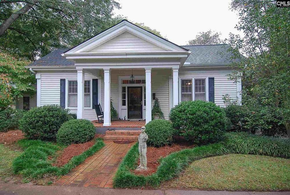1874 Greek Revival For Sale In Winnsboro South Carolina Oldhouses Com House Outside Design Greek Revival Home Southern Cottage
