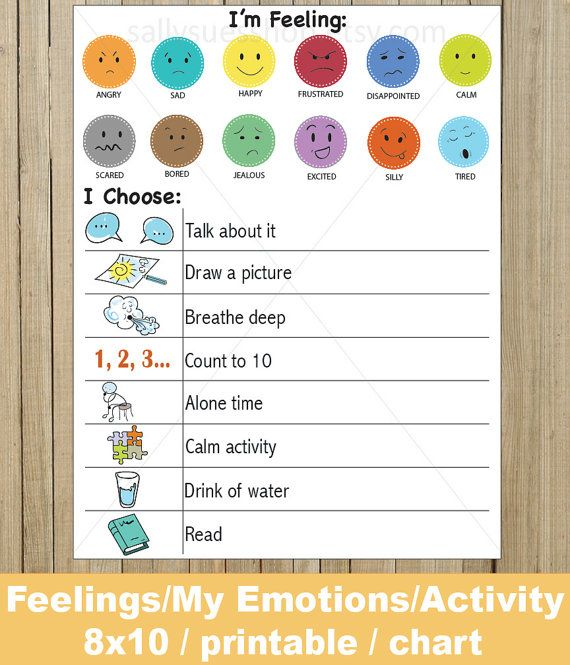 Feelings ChartsEmotions ActivityEmotional DevelopmentDownload