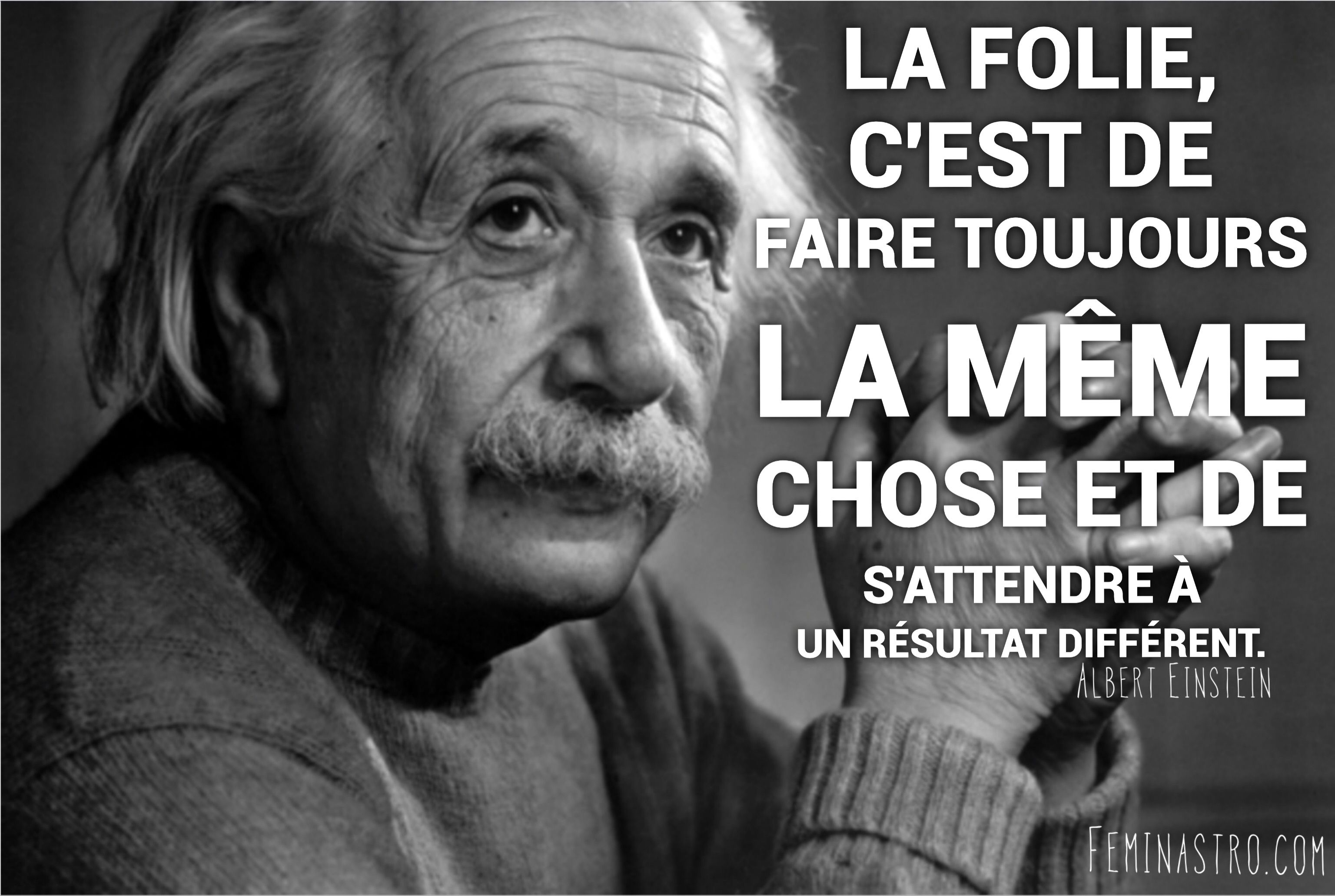 Notre Clin D Oeil Du Jour Albert Einstein Citation