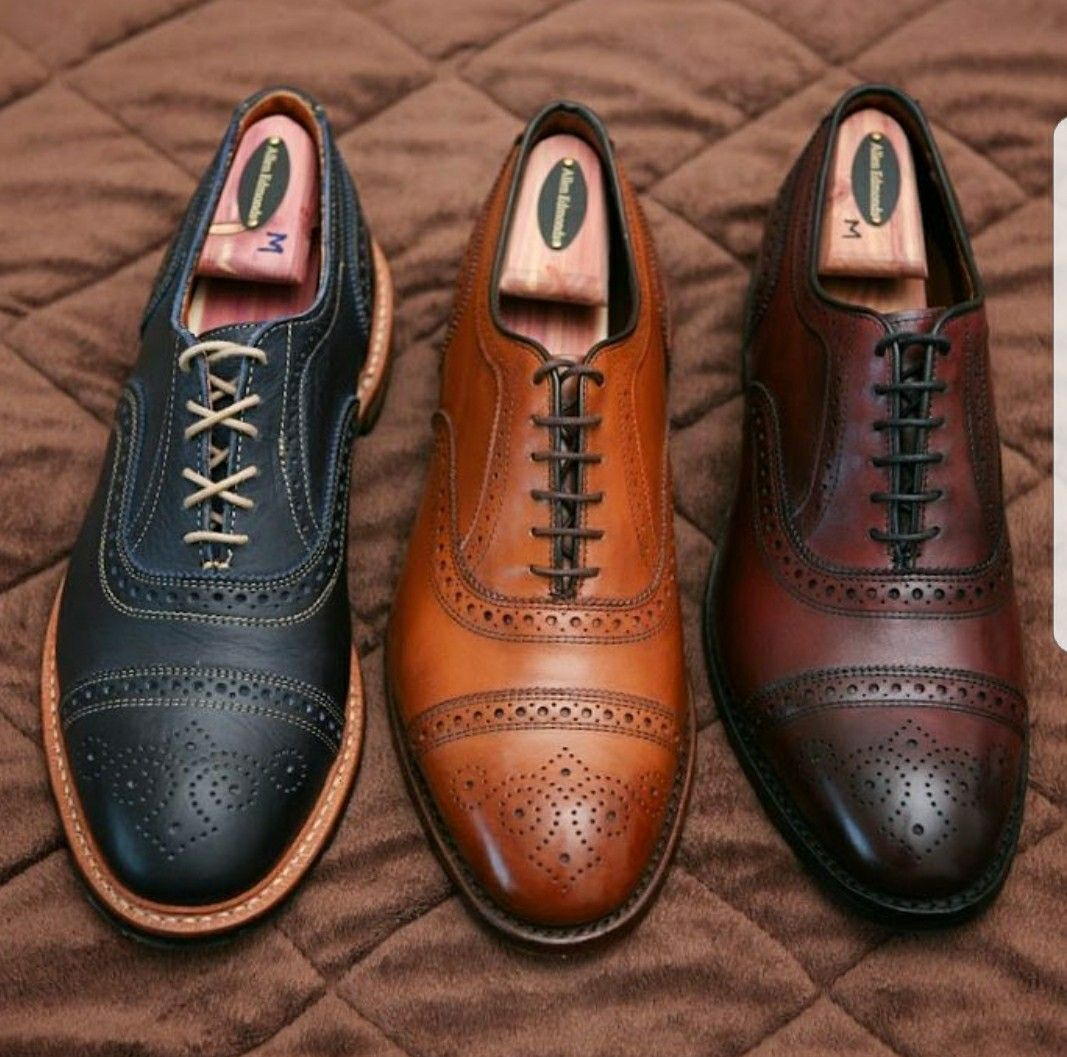 1fc5cd226f043 ALLEN EDMONDS STRANDMOK IN NAVY & STRAND IN WALNUT & OXBLOOD ...