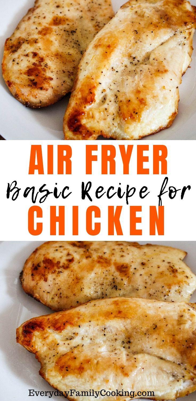 Beginner Air Fryer Chicken Breasts -   19 air fryer recipes chicken boneless keto ideas