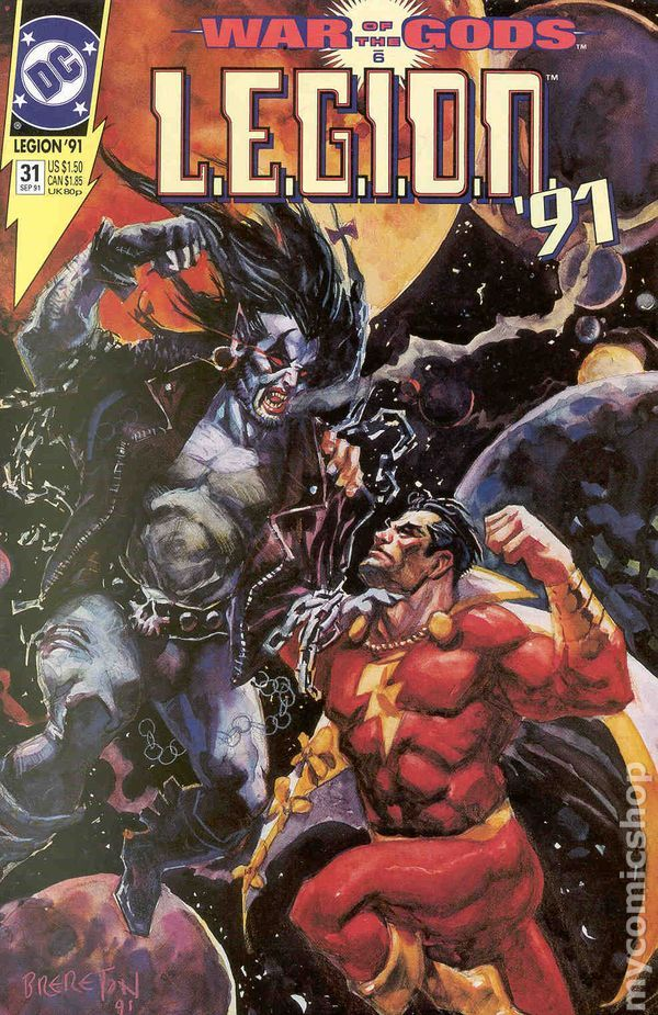 Fight Scenes Are Like Learning A Dance You Learn It Move: Legion (1989 1st Series) Comic