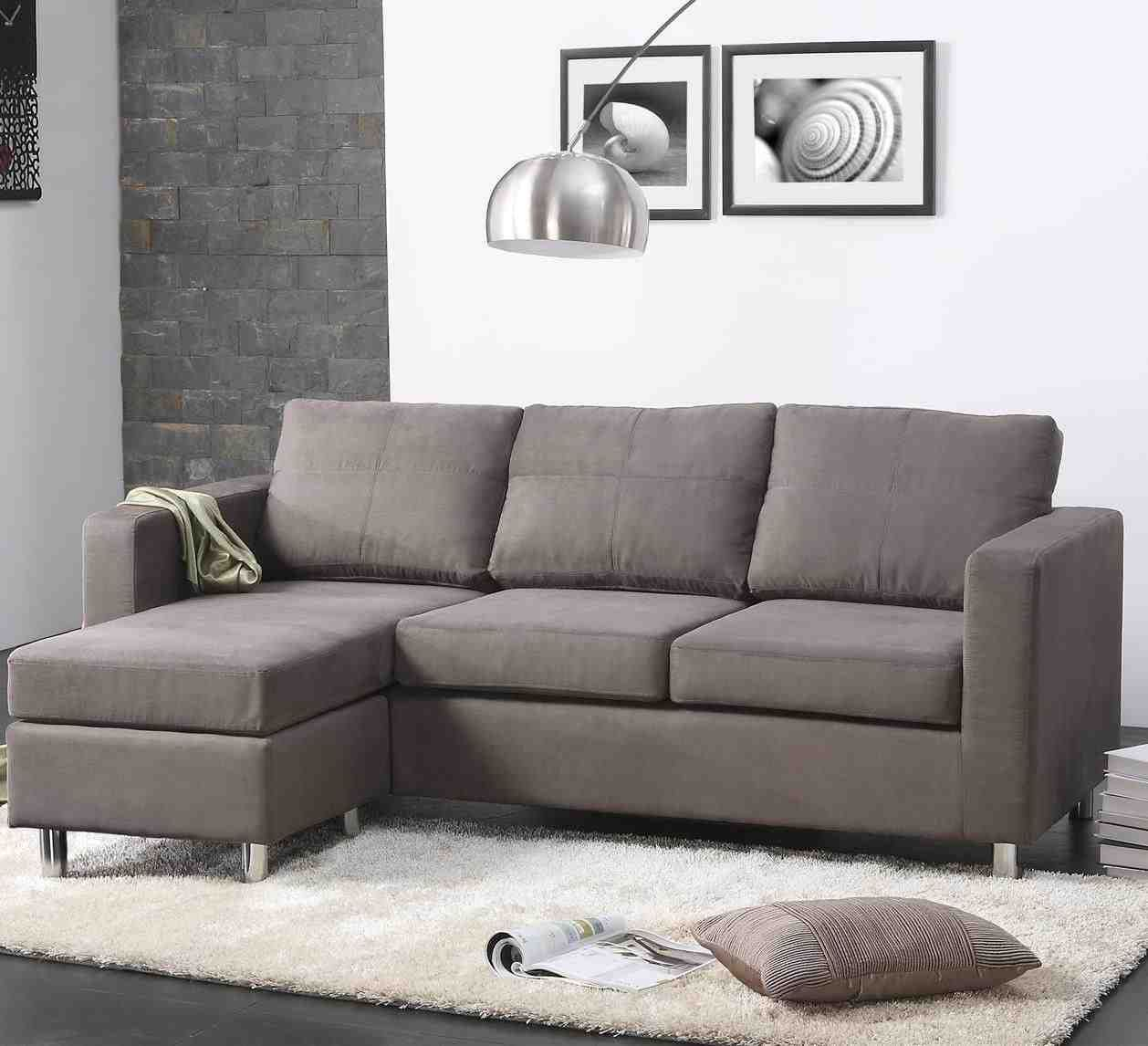 Small L Shaped Sectional Sofa | Interior design | L shaped sofa bed ...