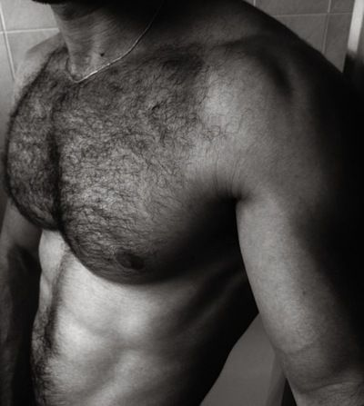 Hairy chests are back