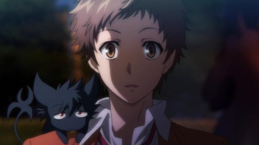 SERVAMP Kuro, Mahiru (ep 02) Anime, Sleepy ash, Sleepy