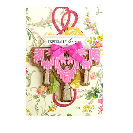 Anna Griffin Tassel and Fringe Cut and Emboss Die Set