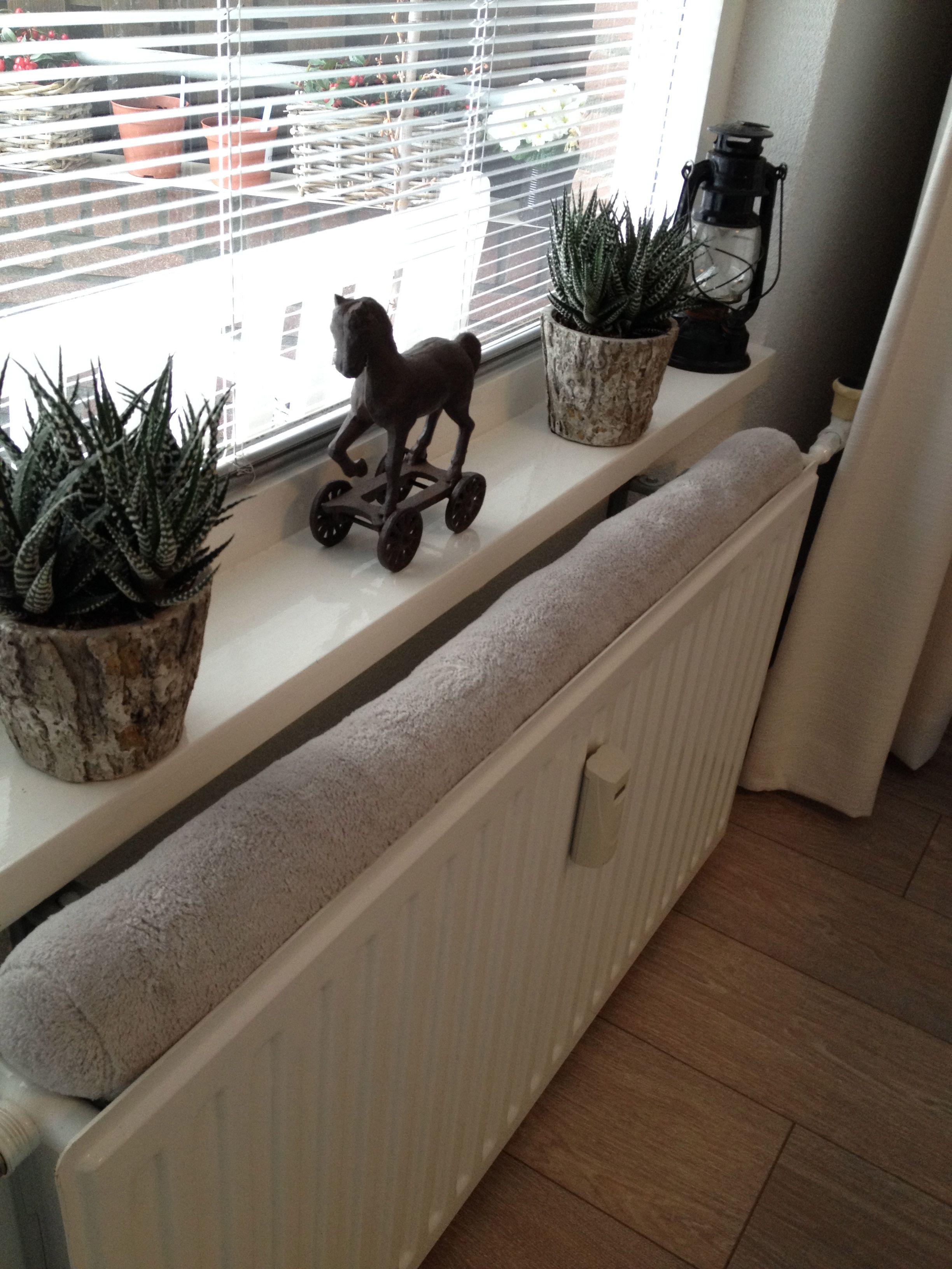 Vensterbank decoratie landelijk bruin puur wonen pinterest decoration - Credenza voor keuken ...
