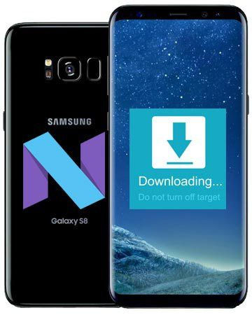Samsung Galaxy S8 SM-G950F Australia Telstra Nougat Official
