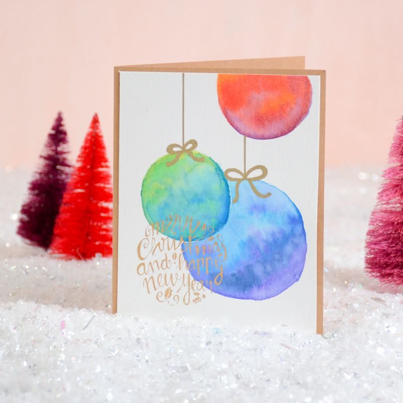 Easy merry christmas card for kids 2018 | card making tutorial.