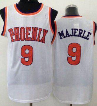 24c4c81c65d Phoenix Suns  9 Dan Majerle White New Throwback NBA Jersey