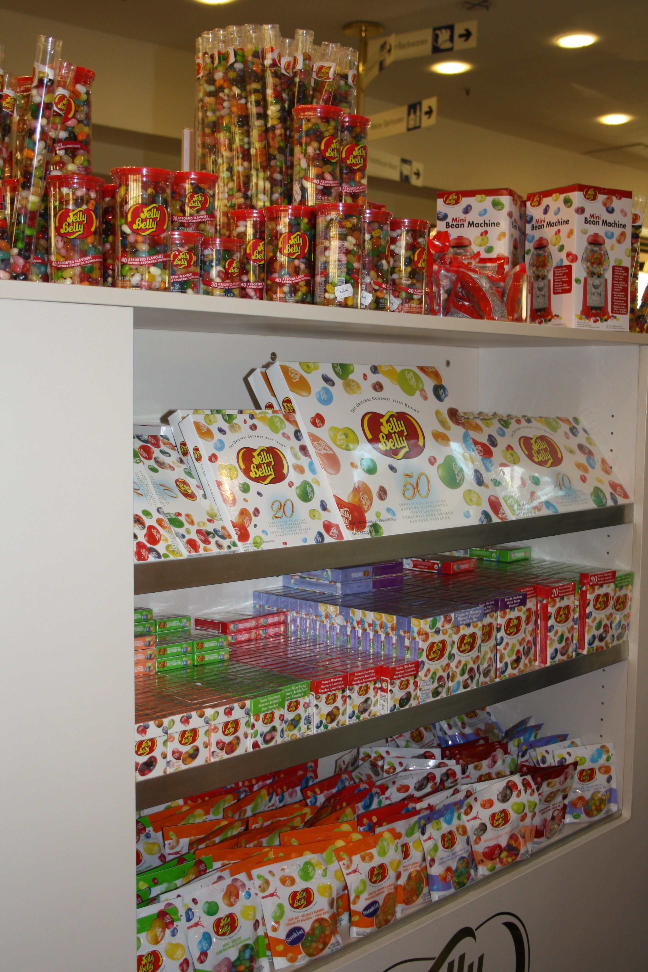 KaDeWe Jelly Belly Beans Counter